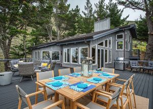 Day Residence, Exterior Architecture, Big Sur, CA. 36.361475°N , -121.856261°W