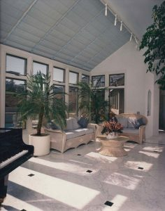 Ho Residence, Interior Architecture, Sun Room, Cupertino, CA. 37.322998°N, -122.032182°W