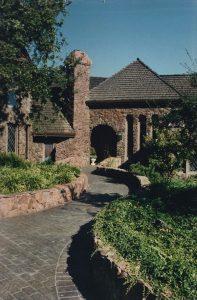 Horton Residence, Exterior Architecture, Front, Los Altos, CA. 37.385218°N, -122.114130°W