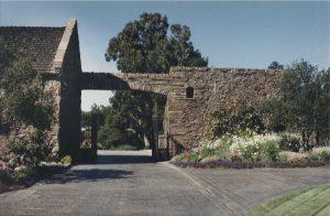 Horton Residence, Exterior Architecture, Gate, Los Altos, CA. 37.385218°N, -122.114130°W