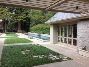 Huang Residence, Exterior Architecture Back Pool, Atherton, CA 37.461327°N, -122.197743°W