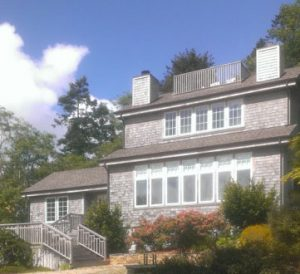 Morris Residence, Exterior Architecture Side, Trinidad, CA 41.059291°N, -124.143125°W