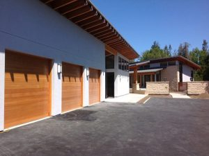NG Residence, Exterior Architecture Garage, Saratoga, CA. 37.263832°N, -122.023015°W