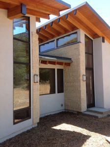 NG Residence, Exterior Architecture Side, Saratoga, CA. 37.263832°N, -122.023015°W