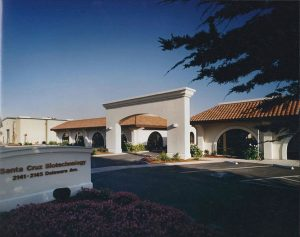 Santa Cruz Biotechnology, Exterior Architecture Front, Santa Cruz, CA. 36.974117°N, -122.030796°W