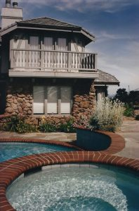 Ho Residence, Exterior Architecture Pool, Cupertino, CA. 37.322998°N, -122.032182°W